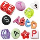 Acrylic Alphabet(Letter) Beads