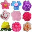 Resin Flower Cabochons