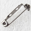 Iron Safety Brooch Pin,20x4.5mm, Sold by bag
