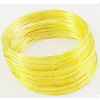 Regular Finsh Mewory Wire, Stainless Colorized, Medium Bracelet, Inner Diameter:30mm  0.6mm thick Sold by KG