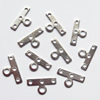 Spacer bars, Iron Jewelry Findings, 4-hole, 7x14mm Hole:1mm 2.2mm, Sold per pkg of 10000