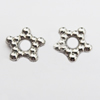Jewelry findings, CCB plastic Beads, Flower 9mm Hole:3mm, sold By Bag