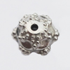 Jewelry findings, CCB plastic Beads, Flower 12mm Hole:1.5mm, sold By Bag