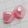 Imitation Pearl Acrylic beads,jewelry finding beads, 12x12mm Hole:2mm, Sold by Bag