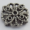 Connector Zinc Alloy Jewelry Findings Lead-free, 16x16mm Hole:1mm, Sold by Bag