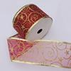 Ribbon Jewelry Printing Satin Ribbon(Christmas), 25mm Length:10 yards, Sold by PC