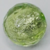 Acrylic silver Foil Beads, Faceted Round 20mm  Sold by Bag