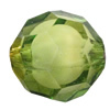 Fantastic Acrylic Beads, Faceted Round 18mm Hole:2mm, Sold by Bag