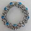 CCB Bracelet, Bead Size:19x11mm, Length:7.9 Inch, Sold By Group