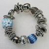 CCB Bracelet, Bead Size:12mm-21mm, Length:7.9 Inch, Sold By Group