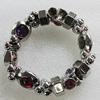 CCB Bracelet, Bead Size:12x6mm-26x7mm, Length:7.9 Inch, Sold By Group