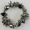 CCB Bracelet, Bead Size:12-18mm, Length:7.9 Inch, Sold By Group
