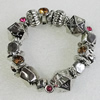 CCB Bracelet, Bead Size:29x24mm-28x18mm, Length:7.9 Inch, Sold By Group