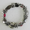CCB Bracelet, Bead Size:19x19mm-21x7mm, Length:7.9 Inch, Sold By Group