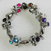 CCB Bracelet, Bead Size:14mm-16x14mm, Length:7.9 Inch, Sold By Group