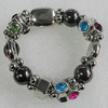 CCB Bracelet, Bead Size:16mm-25x20mm, Length:7.9 Inch, Sold By Group