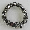 CCB Bracelet, Bead Size:17mm-25x20mm, Length:7.9 Inch, Sold By Group