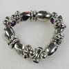 CCB Bracelet, Bead Size:17mm-19x11mm, Length:7.9 Inch, Sold By Group