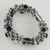 CCB Bracelet, Bead Size:17mm-22mm, Length:7.9 Inch, Sold By Group
