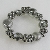 CCB Bracelet, Bead Size:16mm-20x7mm, Length:7.9 Inch, Sold By Group