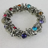 CCB Bracelet, Bead Size:16mm-23x15mm, Length:7.9 Inch, Sold By Group