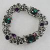 CCB Bracelet, Bead Size:15mm-24x18mm, Length:7.9 Inch, Sold By Group