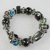 CCB Bracelet, Bead Size:20x13mm-25x15mm, Length:7.9 Inch, Sold By Group