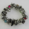 CCB Bracelet, Bead Size:17x16mm-25x19mm, Length:7.9 Inch, Sold By Group