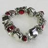 CCB Bracelet, Bead Size:16mm-24x16mm, Length:7.9 Inch, Sold By Group