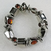 CCB Bracelet, Bead Size:18mm-26x19mm, Length:7.9 Inch, Sold By Group