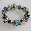 CCB Bracelet, Bead Size:20mm-21x7mm, Length:7.9 Inch, Sold By Group