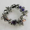CCB Bracelet, Bead Size:28x7mm-23x21mm, Length:7.9 Inch, Sold By Group