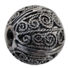 Copper European Style Beads Jewelry Findings Lead-free, 18mm Hole:5mm Sold by Bag
