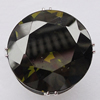 Cubic Zircon (C.Z) Finger Ring, Faceted Flat Round 20mm Hole:17mm, Sold by Box