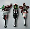 Lampwork Glass Bottle Stopper, 102x21mm-105x56mm, Sold by PC