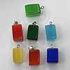 Cats Eye Pendant/Charm, Mix Color, Nugget 10-28mm, Hole:About 1MM, Sold by PC
