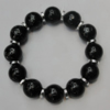 Semiprecious stone Bracelet, 8-Inch, Bead Size:14mm Sold by Group