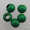 Colorful Iron Beads, 3.2mm Hole:About 1mm, Sold by Group