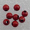 Colorful Iron Beads, 8mm Hole:About 3mm, Sold by Group