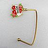 Zinc Alloy Purse Hanger, Lead-free, 40mm, Sold by PC
