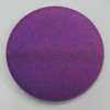 Dichroice Matte Acrylic Beads, Flat Round 30mm Hole:2.5mm, Sold by Bag