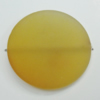 Dichroice Matte Acrylic Beads, Flat Round 40mm Hole:3mm, Sold by Bag