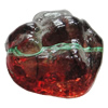 Dichroic Plastic Beads, 25x25mm Hole:2mm, Sold by Bag