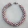 Pearl Bracelet, Length:About 7.87 Inch, Sold by Strand