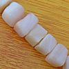 Natural Shell Beads, Cube 7mm Hole:About 1mm, Sold by 16-inch Strand