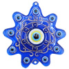 Turkish Resin Pendants, Flower 94x90mm Hole:3.5mm, Sold By Bag