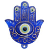 Turkish Resin Pendants, Hand 72x59mm Hole:4mm, Sold By Bag
