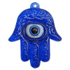 Turkish Resin Pendants, Hand 48x39mm Hole:3mm, Sold By Bag