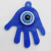 Turkish Resin Pendants, Hand 34x30mm Hole:2mm, Sold By Bag