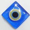 Turkish Resin Pendants, Diamond 25mm Hole:2mm, Sold By Bag